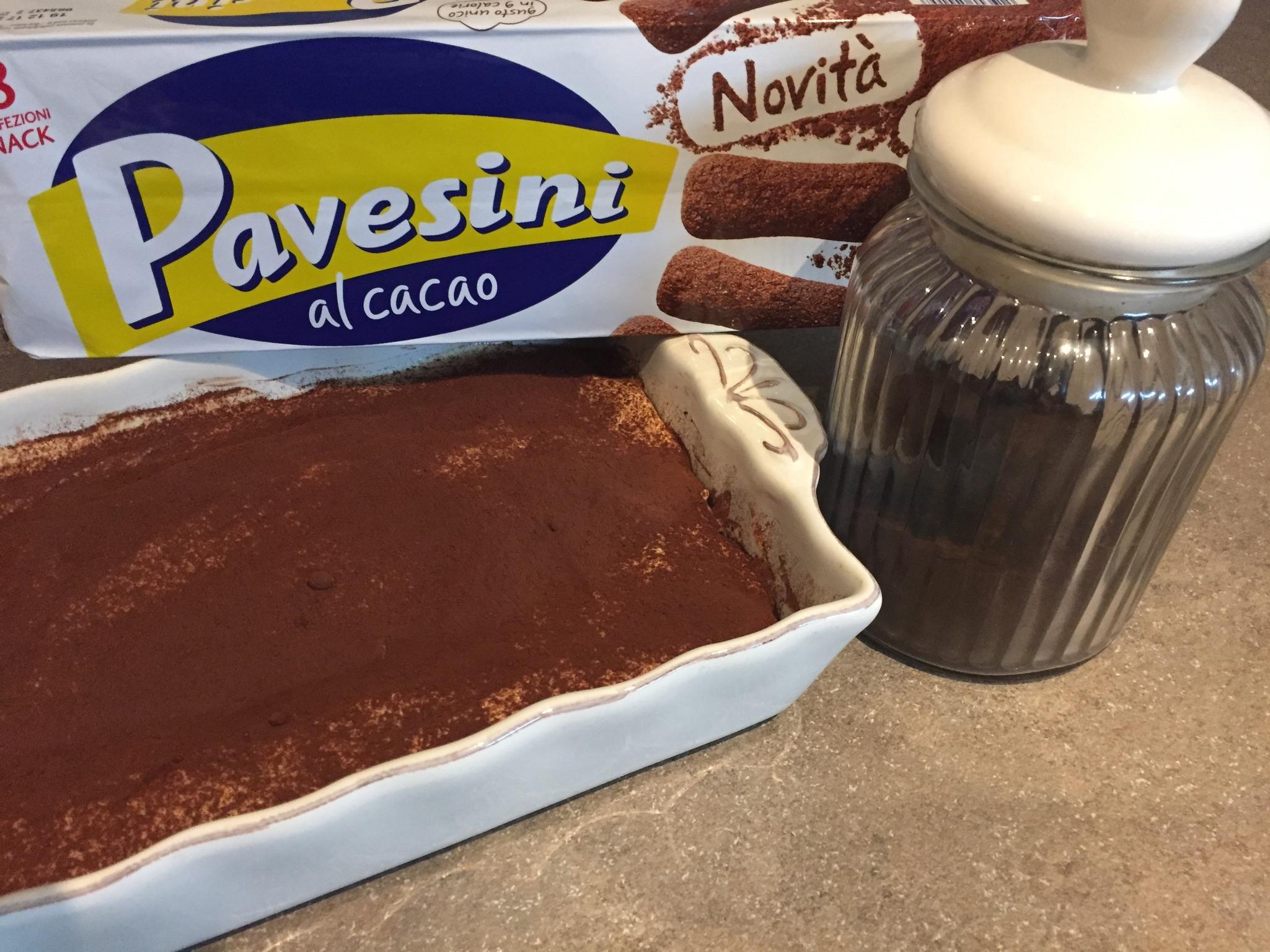 Ricetta Tiramisu Savoiardi O Pavesini.Tiramisu Con Pavesini Al Cacao